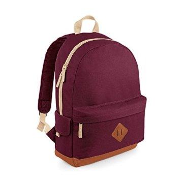 BagBase Daypack, burgunderfarben