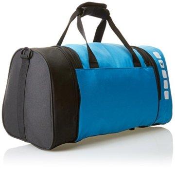 erima Sporttasche in Blau/Schwarz