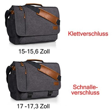 Estarer Laptoptasche 17/17,3 Zoll