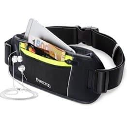 Hüfttasche von FREETOO mit Kopfhörerdurchlass