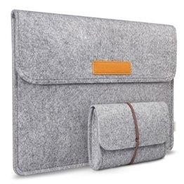 Inateck 13,3 Zoll Air Laptop Tasche in Grau