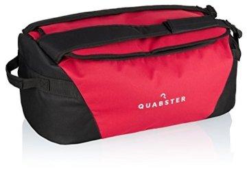 Quabster Sporttasche mit Rucksackfunktion