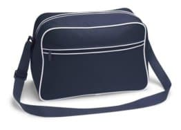 Retro Sporttasche aus Nylon