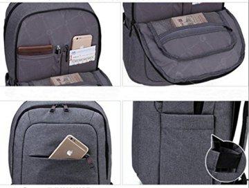 Slotra Notebook Rucksack in Schwarz