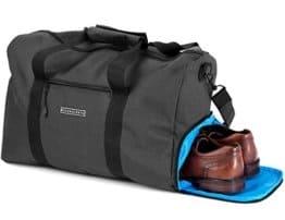 Stilvolle Sporttasche mit Schuhfach