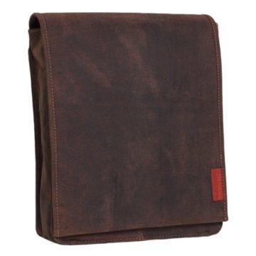 Tasche aus geöltem Buffalo-Leder in A4-Format